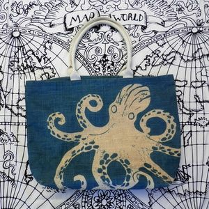 DEI Octopus Jute Tote